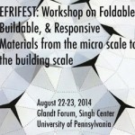 Workshop on Foldable, Buildable, & Responsive Materials
