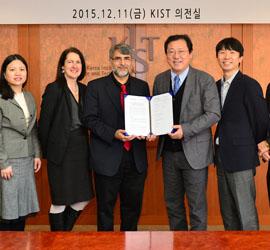 Memorandom of Understanding Signing Ceremony between KIST-MLSRD and UPENN-LRSM & AESOP
